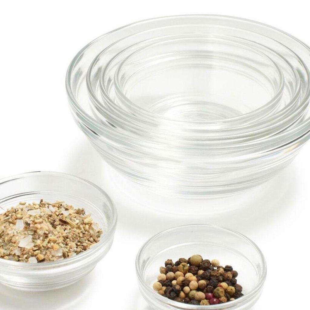 DURALEX Lys Stackable Clear Bowl 10 Piece Set
