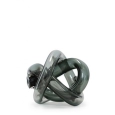 SKLO Accessoire décoratif en verre Wrap fumée (18cm)