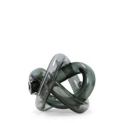 SKLO Accessoire décoratif en verre Wrap (18cm) - Fumée