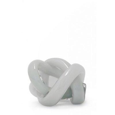 SKLO Accessoire décoratif en verre Wrap (18cm) - Gris
