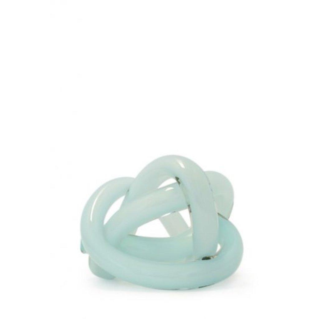 SKLO Accessoire décoratif Wrap en verre vert céladon (18cm)