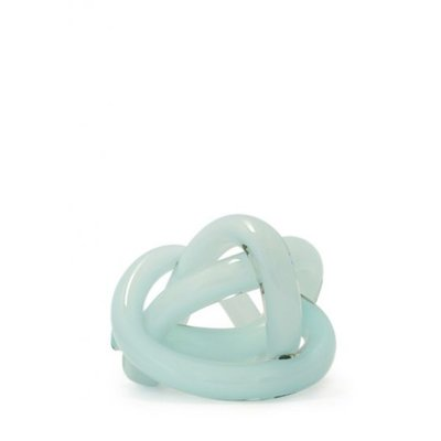 SKLO Wrap Glass Decorative Accessory (18cm) - Celadon Green