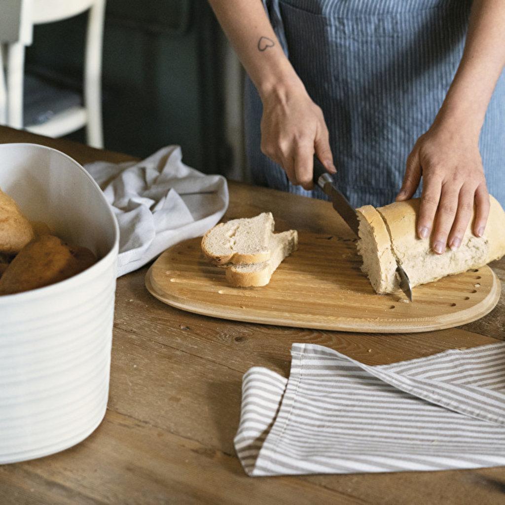 GUZZINI Tierra Boîte à pain Taupe
