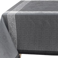 LE JACQUARD FRANCAIS Ottomane Tablecloth Slate 69'' X 149''