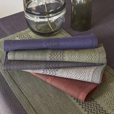 LE JACQUARD FRANCAIS Slow Life Tablecloth 59'' X 86'' Carbon
