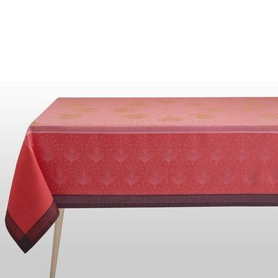 LE JACQUARD FRANCAIS Nappe Cabaret 69'' X 149'' Flamingo