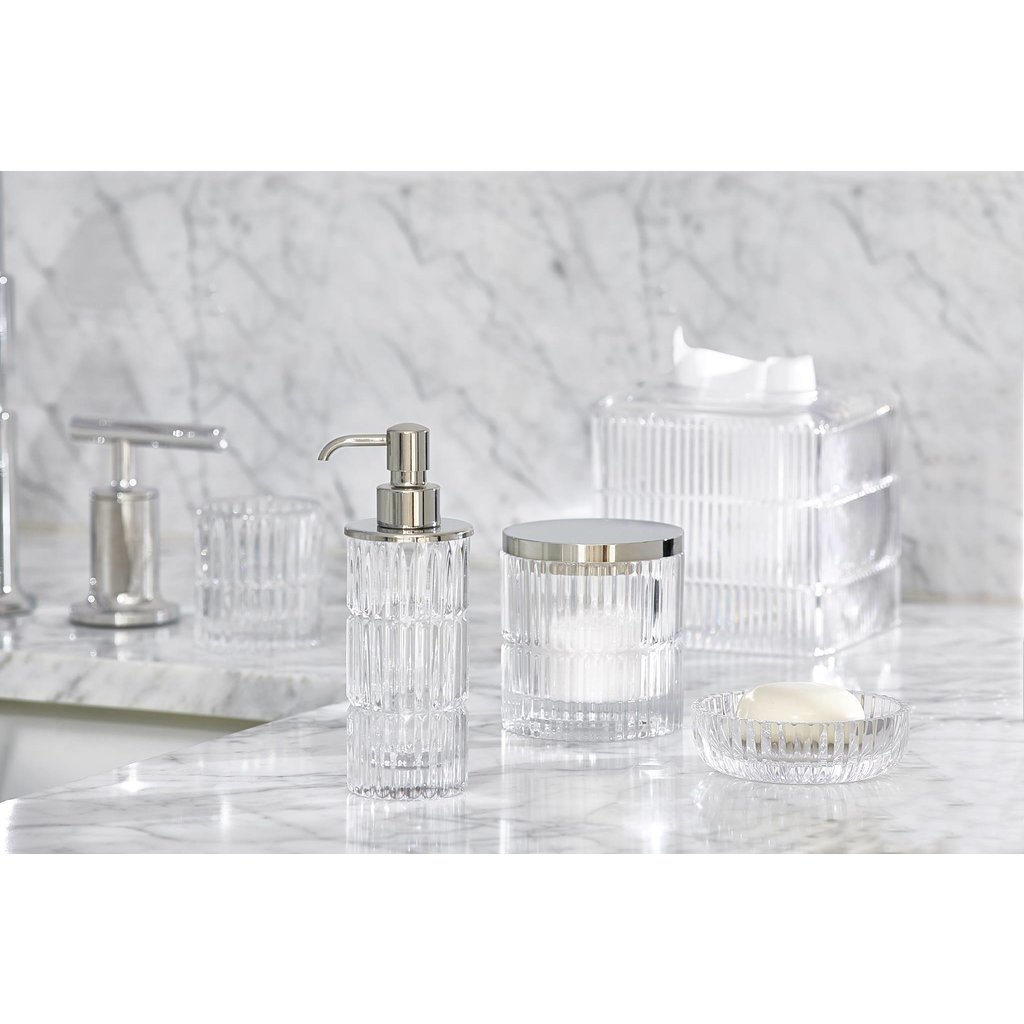 LABRAZEL Prisma Fine Crystal Toothbrush Tumbler in Clear