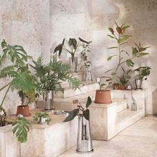 GEORG JENSEN  Medium Reversible Terra Planter - Silver