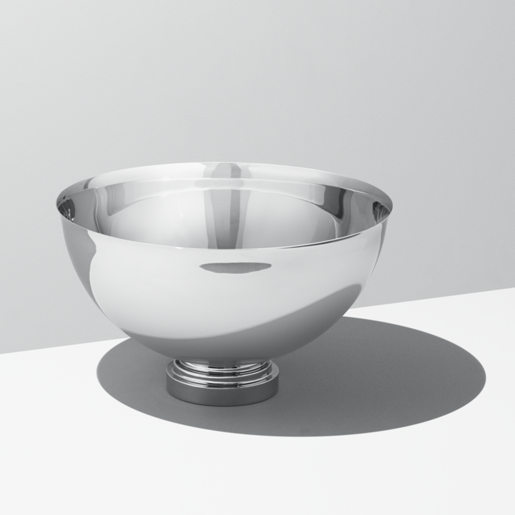 GEORG JENSEN Manhattan Champagne Bowl in Polished Stainless Steel