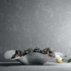 GEORG JENSEN Indulgence Oyster Tray in Polished Stainless Steel