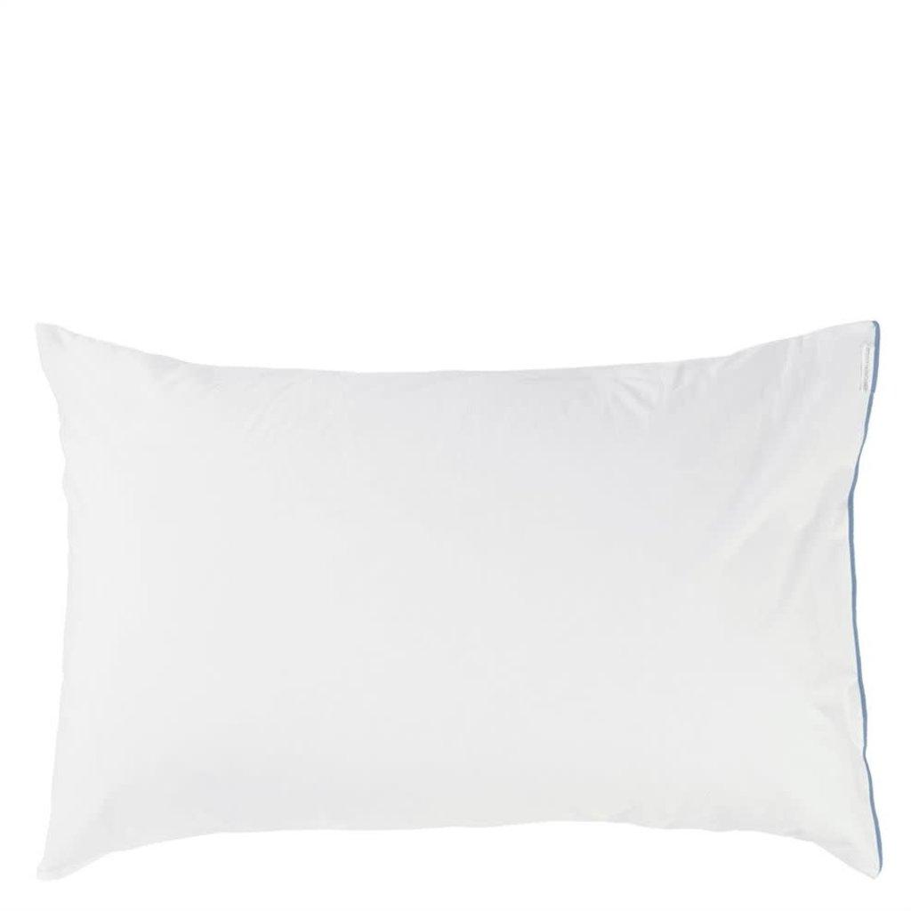 DESIGNERS GUILD Astor Indigo Queen Pillowcase 75X50Cm