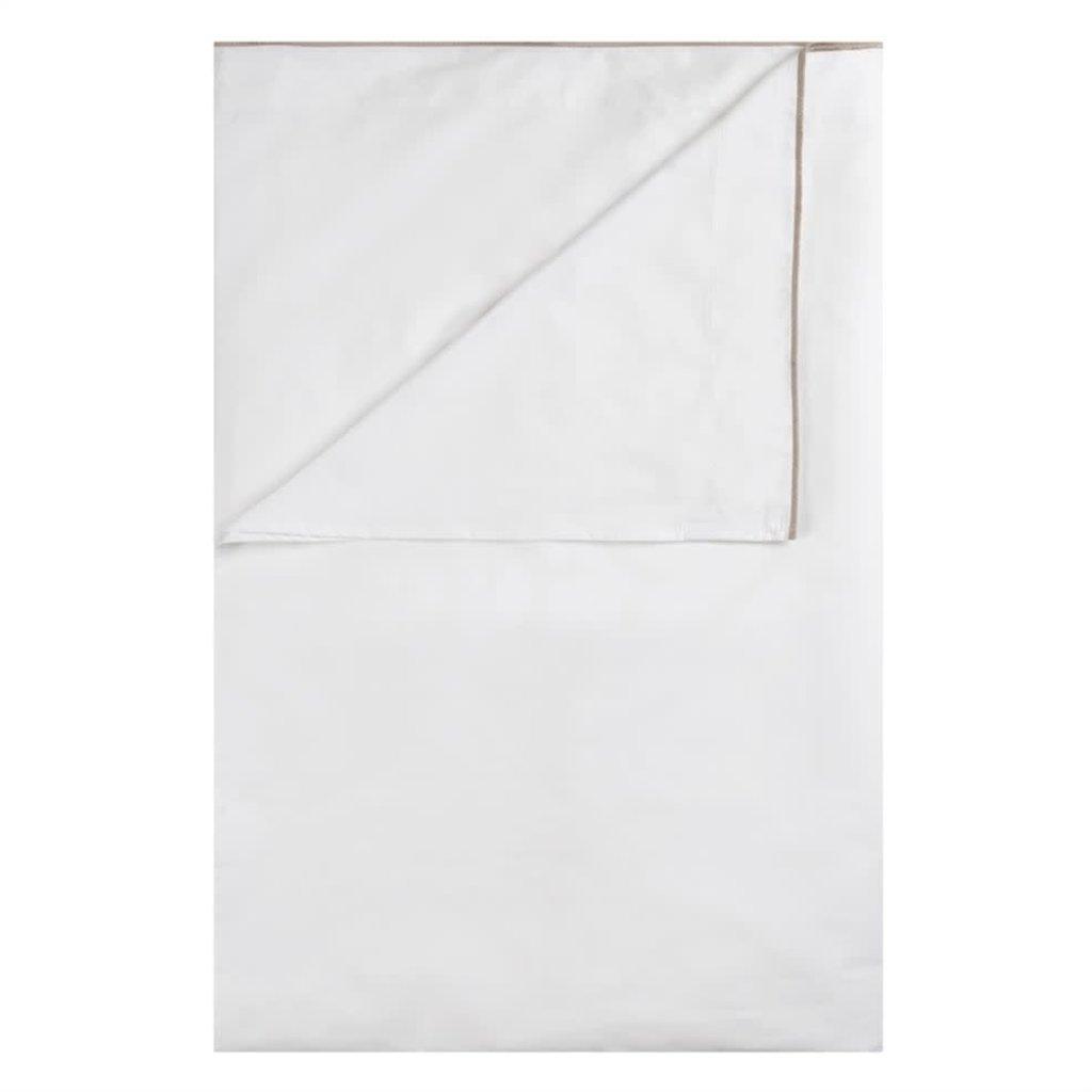 DESIGNERS GUILD Astor Birch Queen Flat Sheet 240X300Cm