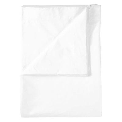 DESIGNERS GUILD Astor Bianco Queen Flat Sheet 240X300Cm