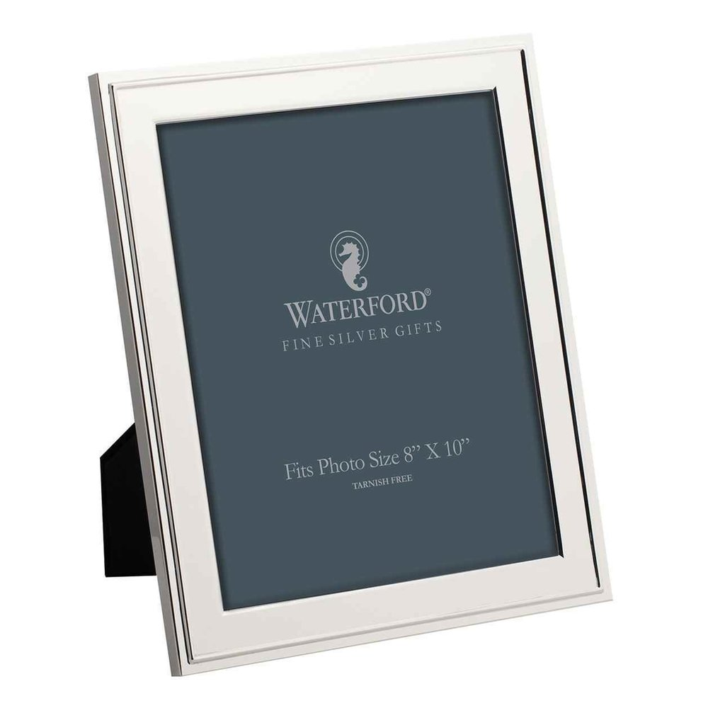 "WATERFORD Classic Frame 8X10"" Silver"