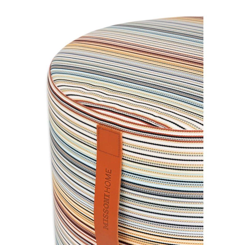"MISSONI HOME Jenkins Cylindrical Pouf Ø 16""x12"" Colour 148"