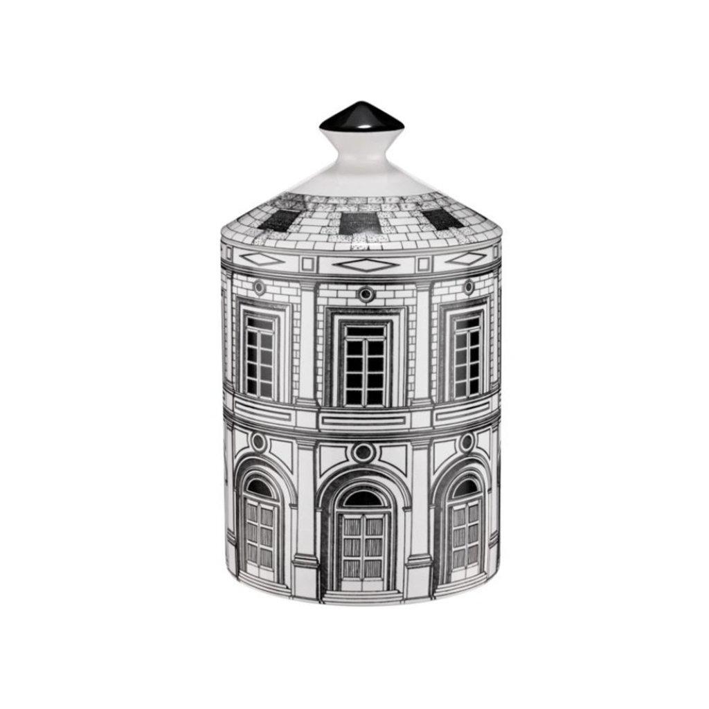 FORNASETTI FRAGRANCE  Palazzo Bougie parfumée en noir - 300G