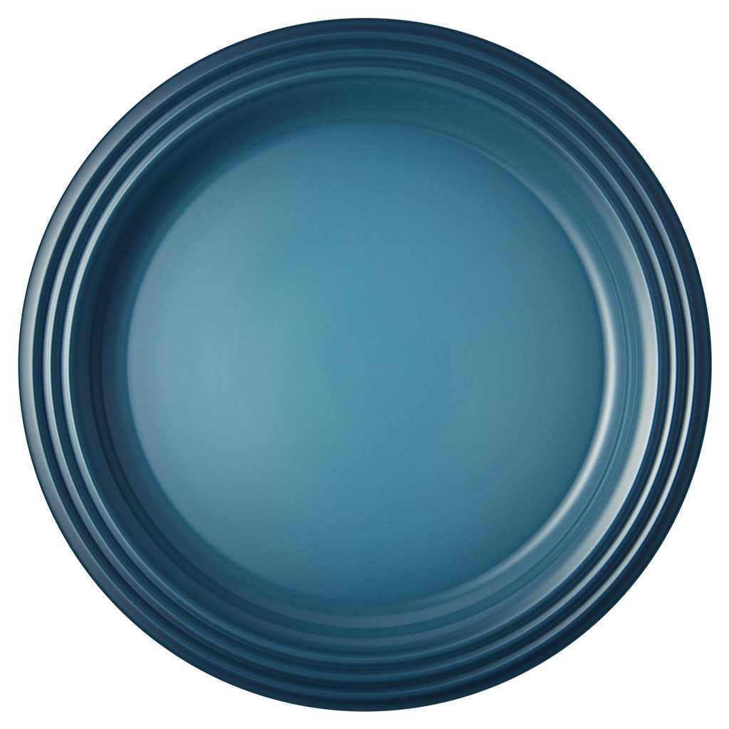 LE CREUSET Classic 27 cm Dinner Plates (Set of 4) Teal