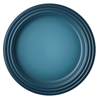 LE CREUSET Assiettes à dessert classiques (jeu de quatre) 22 cm Teal