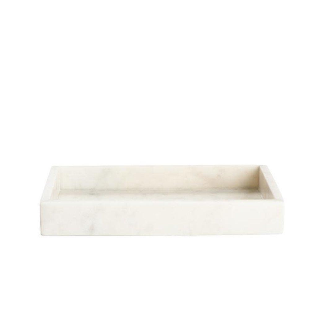 BELLE DE PROVENCE Plateau à serviettes en marbre 8,35 x 4,4 x 1,5 ''