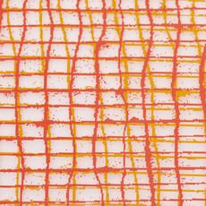 MODERN TWIST Placemat: Linen - Tangerine
