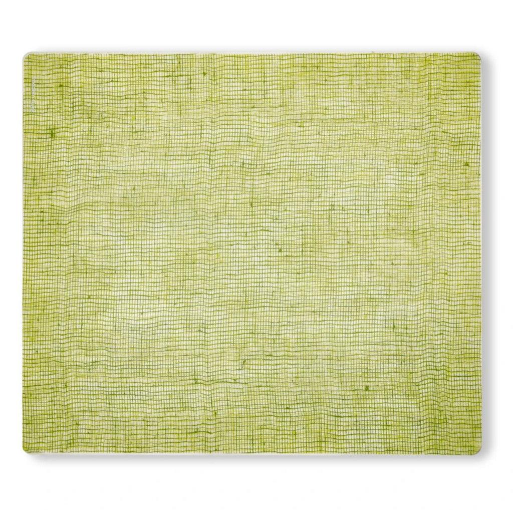 MODERN TWIST Placemat: Linen - Green Apple