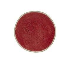 BORDALLO PINHEIRO Assiette à fruits melon d'eau vert et rouge en céramique