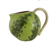 BORDALLO PINHEIRO Pichet de 2,5 litres en céramique - Pastèque verte et rouge