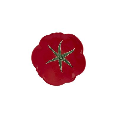 BORDALLO PINHEIRO Tomato Ceramic Fruit Plate - Red