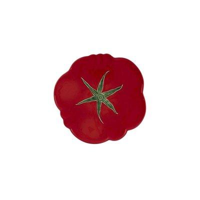 """BORDALLO PINHEIRO Assiette de service en céramique Tomate 12"""" - Rouge"""