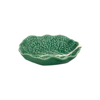 BORDALLO PINHEIRO Grand Saladier en céramique Chou - Vert