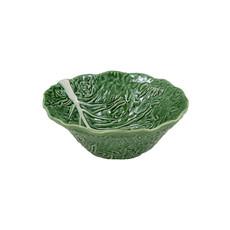 BORDALLO PINHEIRO Grand Saladier Chou Vert en Céramique