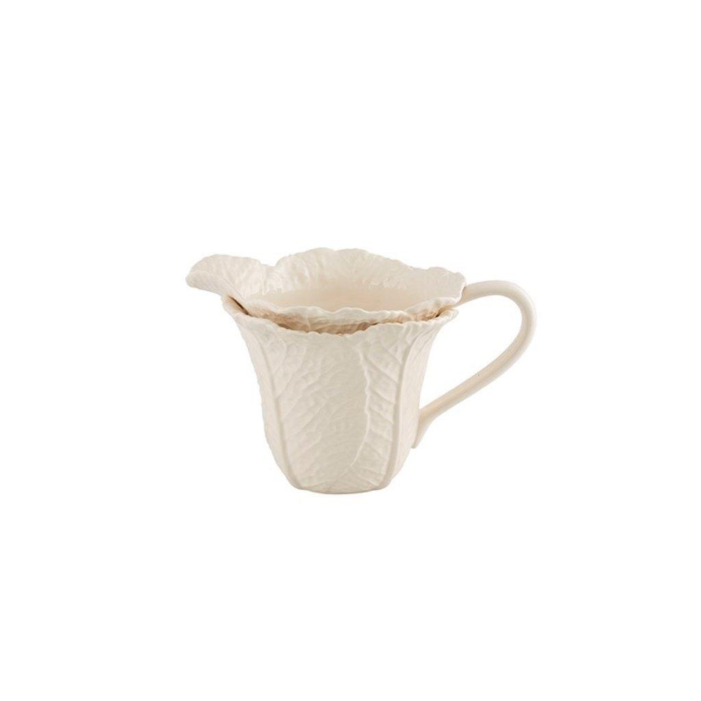 BORDALLO PINHEIRO Pichet 1,5 l en céramique - Beige Feuille de chou