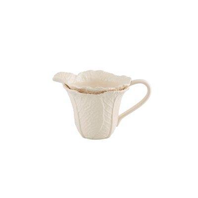 BORDALLO PINHEIRO Pichet 1.5L en céramique de feuille de chou - Beige