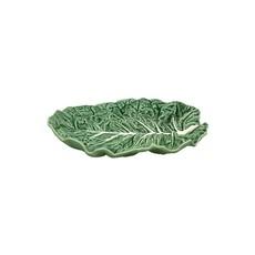 """BORDALLO PINHEIRO Plat à fruits 14"""" en céramique Chou Vert"""
