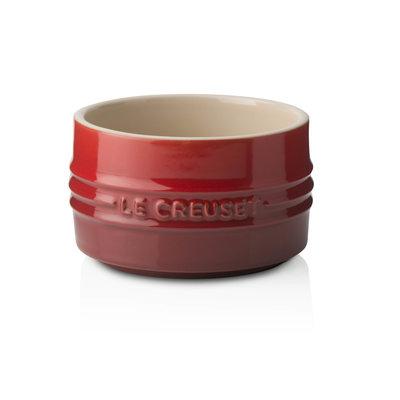 LE CREUSET Set of 2 0.2 L Ramequins empilables Cerise