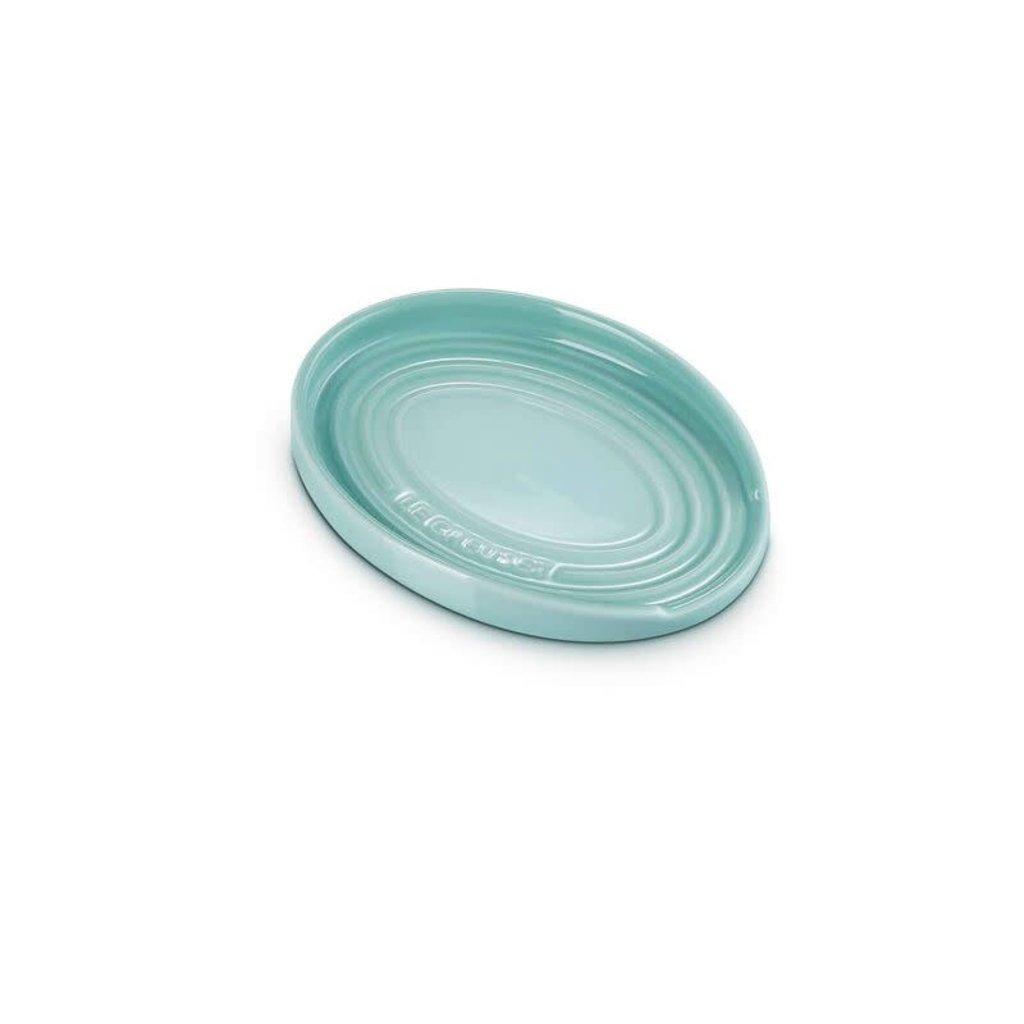 LE CREUSET 15 cm Oval Spoon Rest Sage