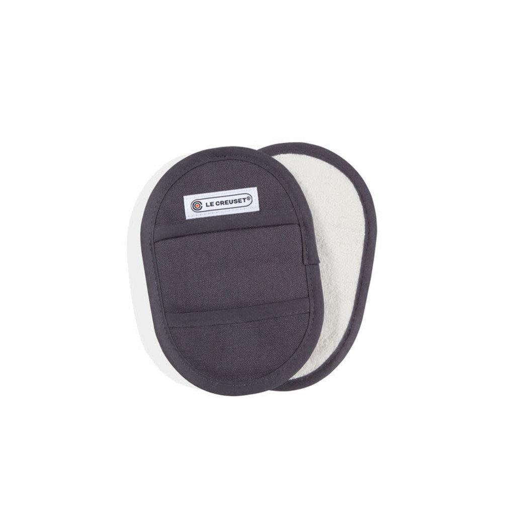 LE CREUSET Textile Set 2 PC Fingertip Potholder Oyster
