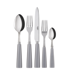 SABRE SABRE Icone 5 Piece Place Setting Gray
