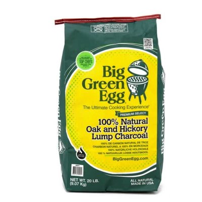 BIG GREEN EGG Natural Lump Charcoal 20 lbs