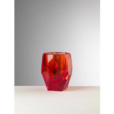 MARIO LUCA GIUSTI Milly Red Tumbler Set of 6 in Acrylic