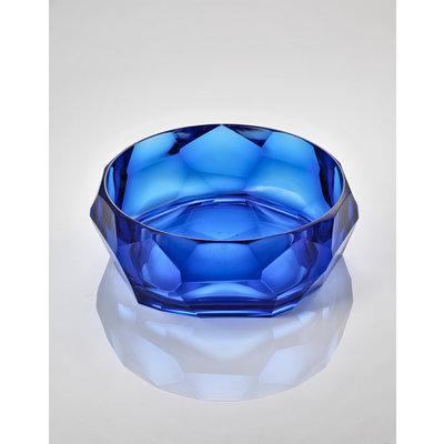 MARIO LUCA GIUSTI Bol de service en acrylique Supernova - Bleu
