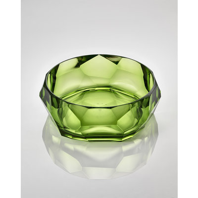 MARIO LUCA GIUSTI Supernova Acrylic Serving Bowl - Green