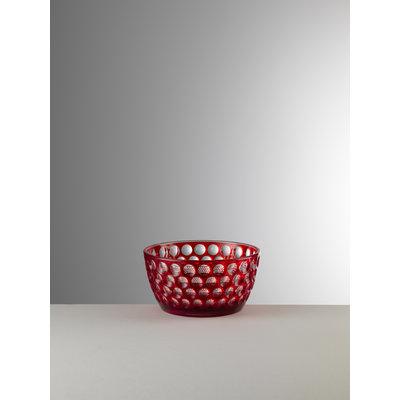 MARIO LUCA GIUSTI Lente Small Serving Bowl - Red
