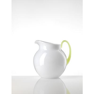 MARIO LUCA GIUSTI Small Pallina Acrylic Pitcher - White & Neon