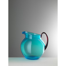 MARIO LUCA GIUSTI Turquoise & Ruby Small Pallina Pitcher in Acrylic