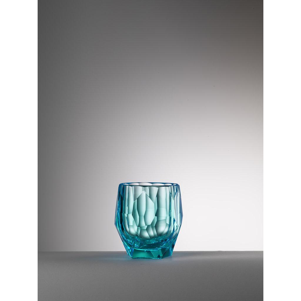 MARIO LUCA GIUSTI Turquoise Filippo Bucket in Acrylic