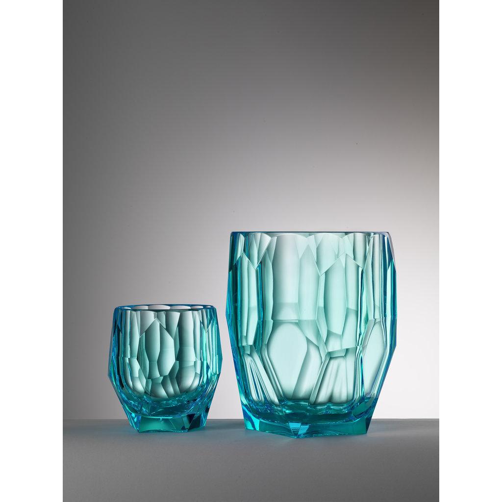 MARIO LUCA GIUSTI  Seau Filippo Turquoise en acrylique
