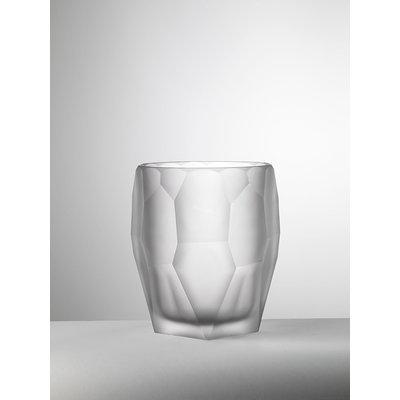 MARIO LUCA GIUSTI Acrylic Antartica Ice Bucket - White Frost