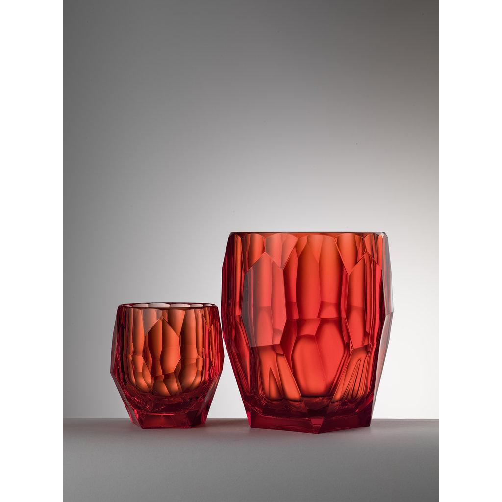 MARIO LUCA GIUSTI Red Antartica Ice Bucket in Acrylic
