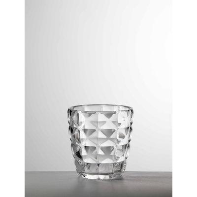 MARIO LUCA GIUSTI Diamante Small Acrylic Tumbler set of 6- Clear